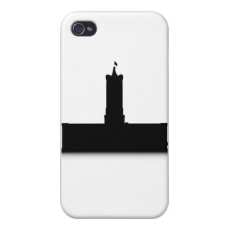 Rotes Rathaus iPhone 4/4S Cover