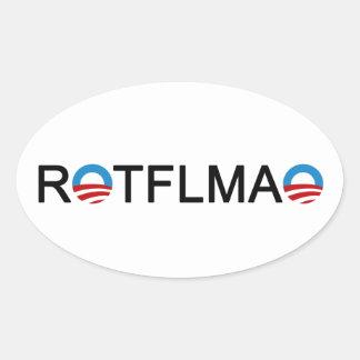 ROTFLMAO Obama Stickers