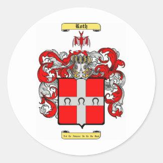 Roth Classic Round Sticker