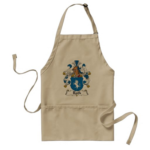 Roth Family Crest Apron
