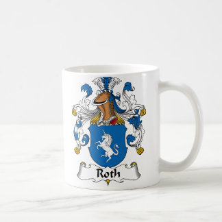 Roth Family Crest Coffee Mug
