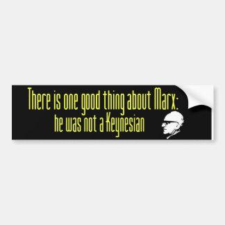 Rothbard en Marx Pegatina Para Auto