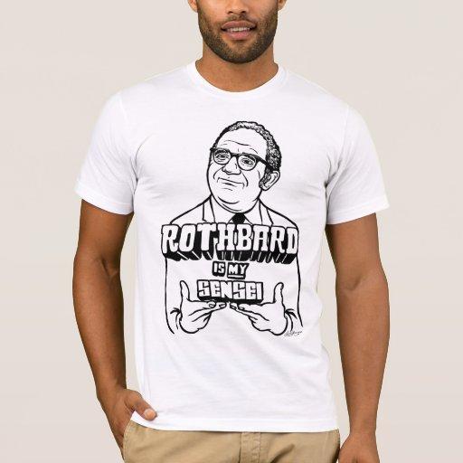 Rothbard es mi camisa de Sensei