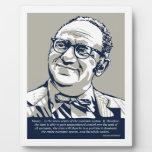 Rothbard Money Quote Photo Plaques