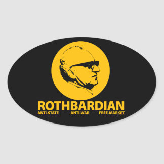 Rothbardian Sticker
