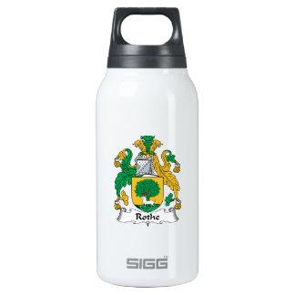 Rothe Family Crest Insulated Water Bottle