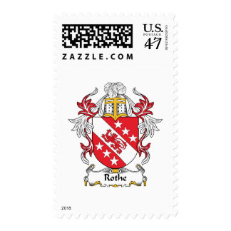 Rothe Family Crest Postage