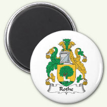 Rothe Family Crest Magnet