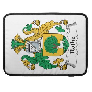 Rothe Family Crest Sleeves For MacBooks