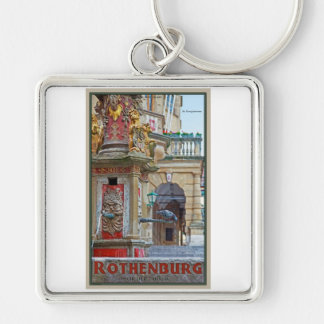 Rotheburg od Tauber - St George Fountain Keychain
