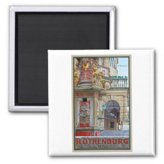 Rotheburg od Tauber - St George Fountain Magnet