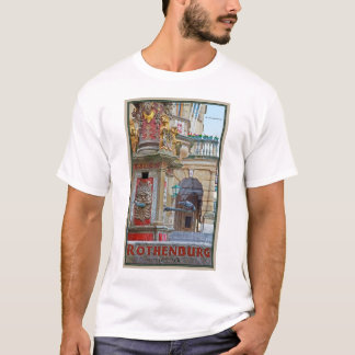 Rotheburg od Tauber - St George Fountain T-Shirt