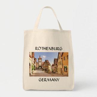ROTHENBURG, ALEMANIA BOLSA TELA PARA LA COMPRA