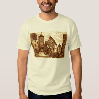 Rothenburg Germany 1907 vintage T-shirt