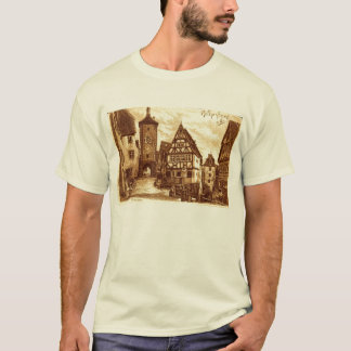 Rothenburg Germany 1907 vintage T-Shirt