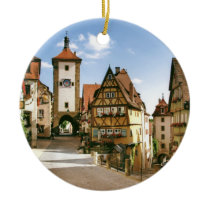 ROTHENBURG, GERMANY CERAMIC ORNAMENT