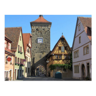 Rothenburg Germany Post Card