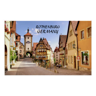 ROTHENBURG, GERMANY POSTERS