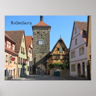 Rothenburg, Germany Print