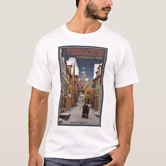 Rothenburg - Markusturm Christmas T-Shirt