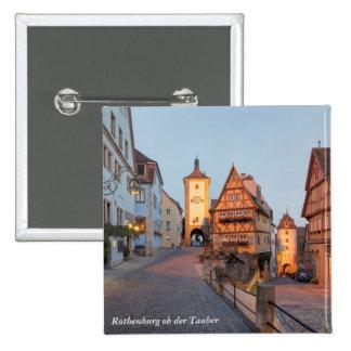 Rothenburg ob der Tauber Button