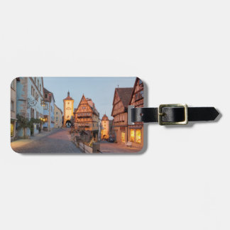 Rothenburg ob der Tauber Luggage Tag