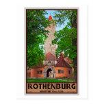 Rothenburg od Tauber - Burgtor Postcard