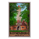 Rothenburg od Tauber - Burgtor Posters
