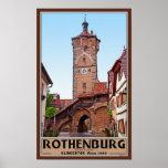 Rothenburg od Tauber - Klingentor Print