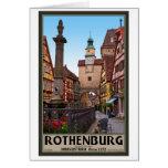 Rothenburg od Tauber - Markusturm Greeting Card
