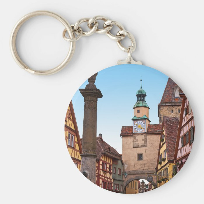 Rothenburg od Tauber - Markusturm Keychain