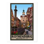 Rothenburg od Tauber - Markusturm Postal