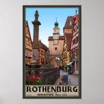 Rothenburg od Tauber - Markusturm Poster