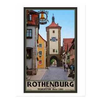 Rothenburg od Tauber - Sieberstor Postcard