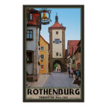 Rothenburg od Tauber - Sieberstor Posters