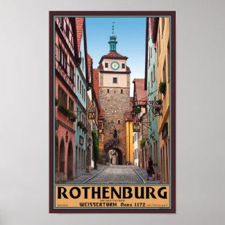 Rothenburg od Tauber - Weisserturm Posters