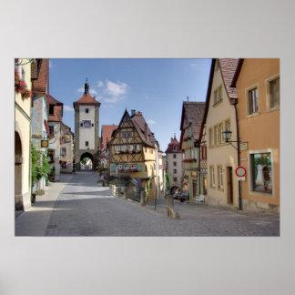 Rothenburg Póster