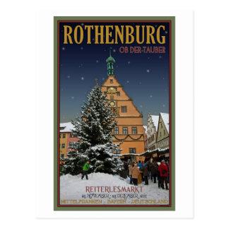Rothenburg Reiterlesmarkt Postales