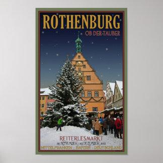 Rothenburg  Reiterlesmarkt Posters