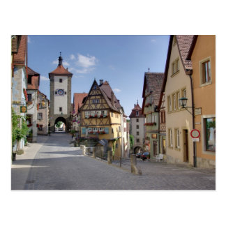 Rothenburg Tarjeta Postal