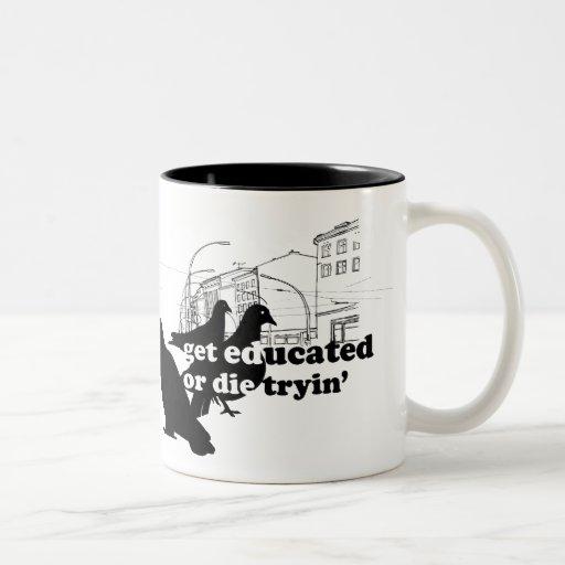 "Rothenhagen ""Get Educated"" Coffee Mug"
