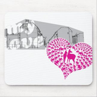 "Rothenhagen ""My Love"" Mouse Pad"