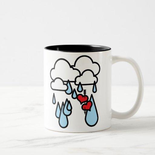 "Rothenhagen ""Raining Hearts"" Coffee Mug"