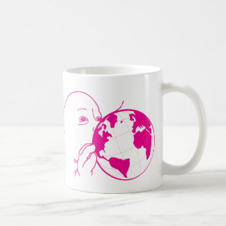 """Rothenhagen """"Suck World"""" Classic White Coffee Mug"""