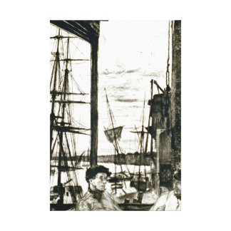 Rotherhithe London England 1860 Canvas Print