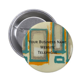 Rothko Inspired Abstract Button