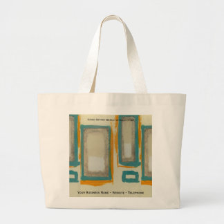 Rothko Inspired Abstract Large Tote Bag