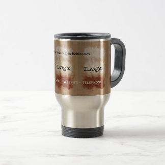 Rothko Inspired Modern Art Logo Travel Mug