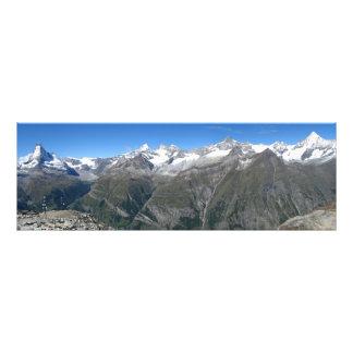 Rothorn panorama, Valais Alps Photo Print