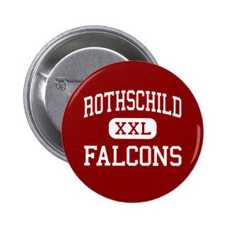 Rothschild - Falcons - Middle - Columbus Georgia Pinback Button